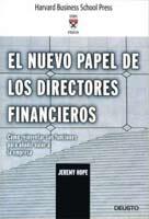 el nuevo papel de los directores financieros