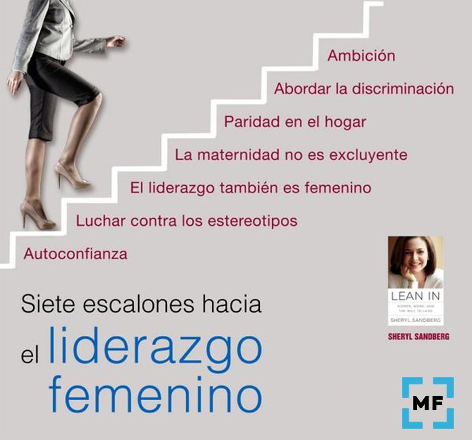 Lean In - Siete escalones hacia el liderazgo femenino